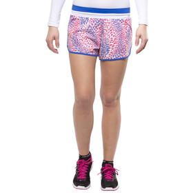 GORE RUNNING WEAR SUNLIGHT PRINT - Short running Femme - rouge/bleu